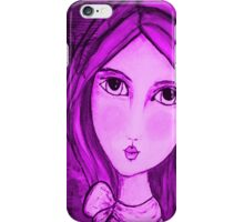 iphone case Penelope Lili Bow Purple iPhone Case/Skin