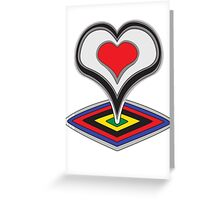 De Rosa Greeting Card