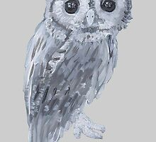 Cute Owl by Antony R James