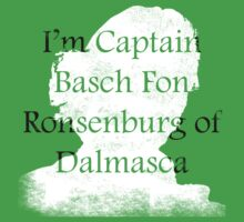 I'm Captain Basch! by GeordanUK