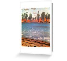 Australia's Desert Outback Greeting Card