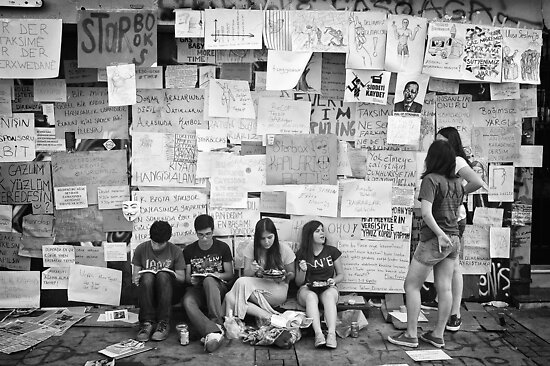 Occupy Gezi Park - Protests Against Turkish Government by Ilker Goksen