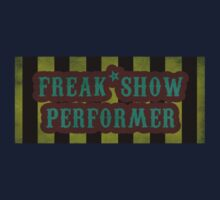 Freak Show Performer Kids Clothes