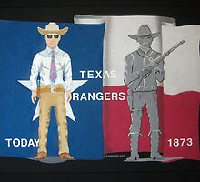 Texas Rangers by AirbrushedArt