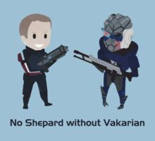 No male!Shep without Vakarian  by silk-sutures