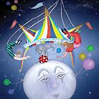 Big Top on a Little Blue Moon by Kim  Harris