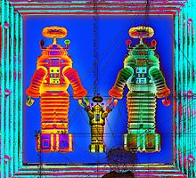 Robot Family 1 by RichardSmith