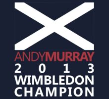 Andy Murray 2013 Wimbledon Champion by Flyinglap