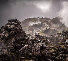 The Lava Fields of Landmannalaugar by Adam  Barstow