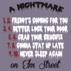 Nightmare on Elm Street - Never Sleep Again by Michael Audet