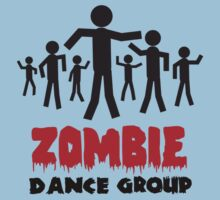 Zombie dance crew Kids Clothes