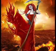 Goddess of the Underworld by Emily Heatherly