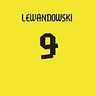 Lewandowski Jersey iPhone Case by TheTubbyLife