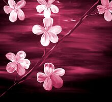 Cherry Blossom Maroon  by markmoore