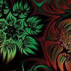 Fall Flowers Fractal by AntiCollegial
