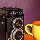 Argus Argoflex E and Coffee by wayneyoungphoto
