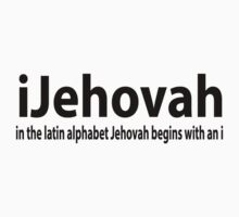 How to spell Jehova by Brantoe