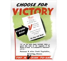 Try A V-Dish To-Day -- World War Two Poster