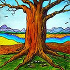 Boab Tree by Sally Murray