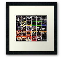 Camera Collage I Framed Print