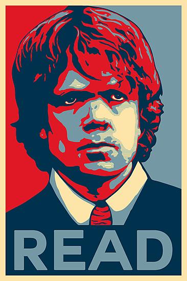 Tyrion Reads by Digital Phoenix Design