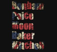 Bonham - Paice - Moon - Baker - Mitchell - British Drumming Legends by PShellard
