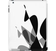 (Inverted) Black & White Graphic iPhone/iPod & iPad iPad Case/Skin