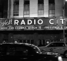 Late-night Radio City Music Hall, NYC by Rachael Mullins