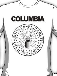 Columbian Blitzkrieg - White Print T-Shirt