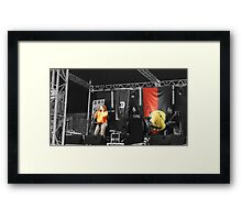earth fire soul Framed Print