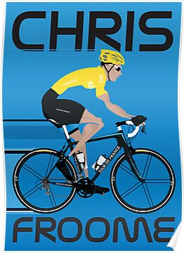 Chris Froome Yellow Jersey by Andy Scullion