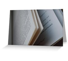 The Stories They Tell Greeting Card