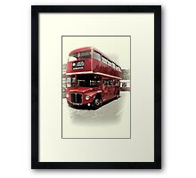 Routemaster Framed Print