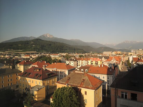 Innsbruck Morning by CreativeEm