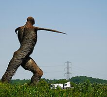 The willow man of Somerset, Bridgwater, UK by buttonpresser