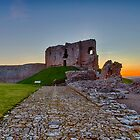 DUFFUS - THE CASTLE SUNSET by JASPERIMAGE