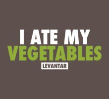 I Ate My Vegetables (White) T-Shirt