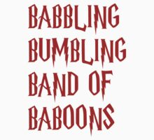Babbling Bumbling Band of Baboons by Allannah