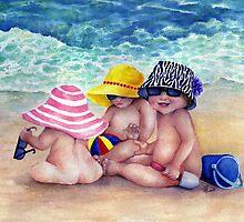 Beach Babies by Sherry Cummings