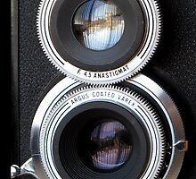 Vintage Argus Argoflex TLR by wayneyoungphoto