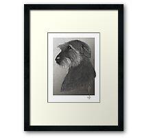 Artemis - Irish Wolfhound Framed Print