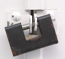 Rusty Door Lock by GysWorks