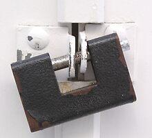 Rusty Door Lock by GysWorks
