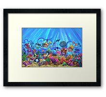 Under the Sea Framed Print