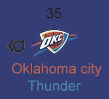 Oklahoma City Thunder Shirt by inathan44