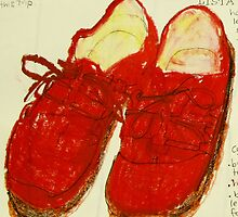 red shoes by donnamalone