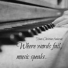 Where Words Fail Music Speaks by Kimberose