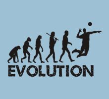 Evolution of a Volleyball Player by shakeoutfitters