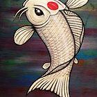 Ichi the Koi fish by HiddenCityArt