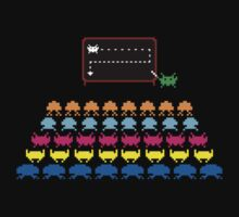 Retro T-Shirt - Space Invaders  Kids Clothes